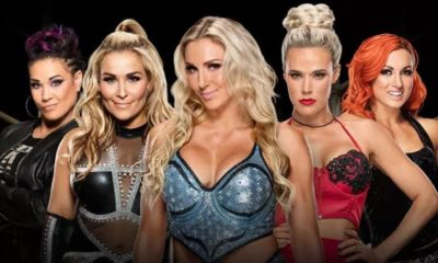 5-Way fatel match smackdown women's championship