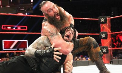 Braun Strowman Beating Roman Reigns