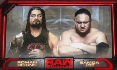 Roman Reigns vs. Samoa Joe