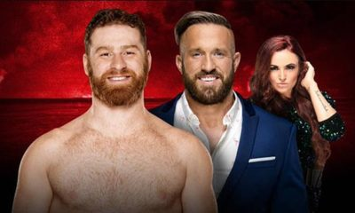 Sami zayn vs. Mike kanellis rematch