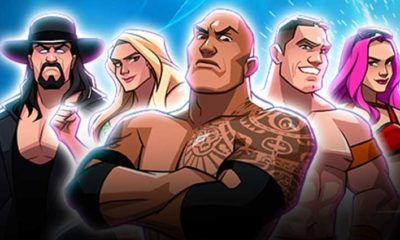 wwe Tap Mania game released