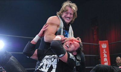 Chris Jericho Returns to NJPW and Attacks Kenny Omega