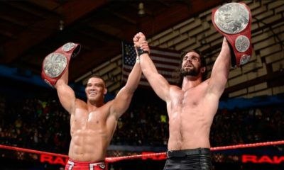 Seth Rollins and Jason Jordan are Crowned as The New Tag Teams Champions on Monday Night RAW