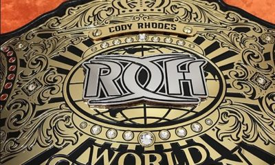 First Official Images of The New ROH World Championship