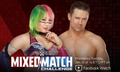 The Miz and Asuka are the New Partner of WWE Mixed Match Challenge