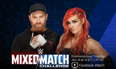 Becky Lynch and Sami Zayn are the New Team for WWE Mixed Match Challenge