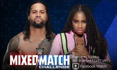 Jimmy Uso and Naomi will Team up in the Mixed Match Challenge