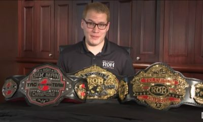 Ring of Honor Presents New Designs for all Its Championship belts