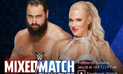 Rusev and Lana are the Second SmackDown Live Couple for the Mixed Match Challenge