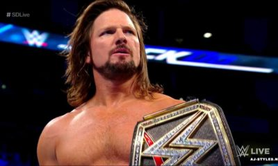 AJ Styles will defend the WWE Championship Against Kevin Owens and Sami Zayn in Triple Threat in Fastlane