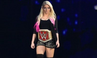 Alexa Bliss Dissatisfied with Tonight's Match on RAW