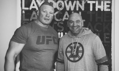 Dana White Fuels Rumors About the Possible Return of Brock Lesnar to UFC