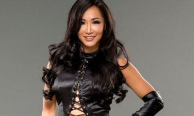Gail Kim Celebrates her Farewell fight in England