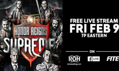 Ring Of Honor will Issue the Honors Reigns Supreme Event for Free