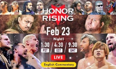ROH / NJPW Honor Rising 2018 Results - Day 1