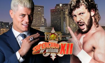 Kenny Omega vs. Cody Rhodes confirmed for ROH Supercard of Honor XII