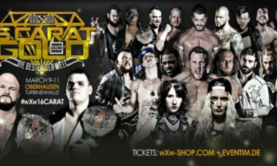 The independent company wXw Announces the Participants for the 16 Carat Gold 2018