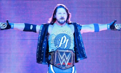 AJ Styles was not injured in the Live Event in New York