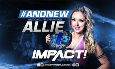 Allie Becomes Impact Wrestling Knockout Champion