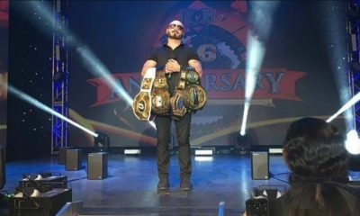 Austin Aries Appears at ROH 16th Anniversary
