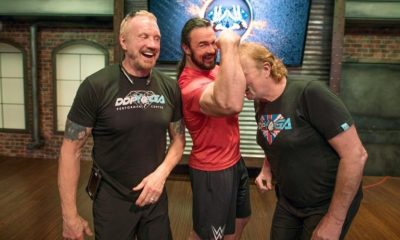Drew McIntyre Receives a Session of DDP Yoga During his Recovery