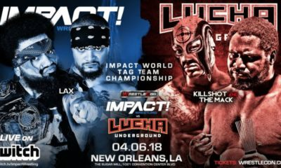 New Matches announced for the Impact Wrestling vs. Lucha Underground