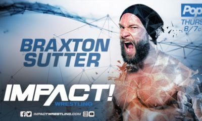 Braxton Sutter Announces his Departure from Impact Wrestling