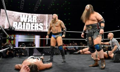 War Raiders Make Their Official Debut on NXT