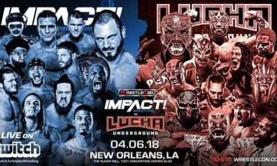 New Matches Announced for Impact Wrestling vs. Lucha Underground
