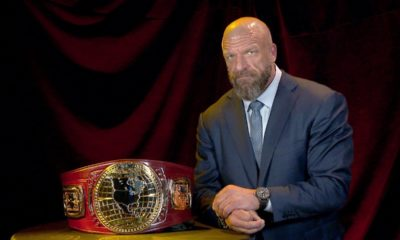 Triple H Presents the Design of the NXT North American Championship