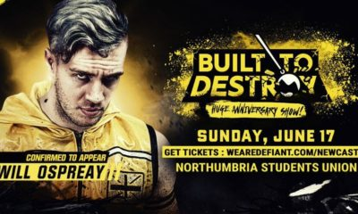 Will Ospreay Returns to Defiant for Built to Destroy