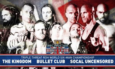 ROH Announces the first Matches for the Honor United Tour