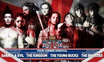 ROH Honor United: London Results: The Kingdom retains Six-man title