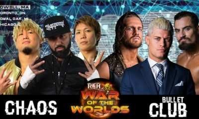 ROH/NJPW War of the Worlds 2018 Results: Lowell (Day 1)
