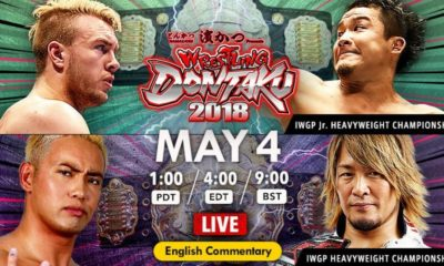 Wrestling Dontaku 2018 Results (Day 2): Chris Jericho Attacks Naito