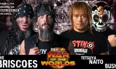 ROH NJPW War of the Worlds 2018: Royal Oak Results