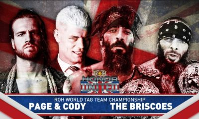 ROH Honor United: Edinburgh Results (5/24): The Briscoes vs. Bullet Club