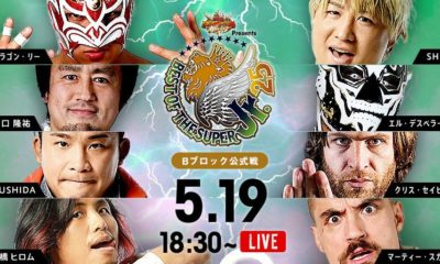 NJPW Best of the Super Jr. 25 Results (5/19) Block B: Hiromu Takahashi vs. Marty Scurll