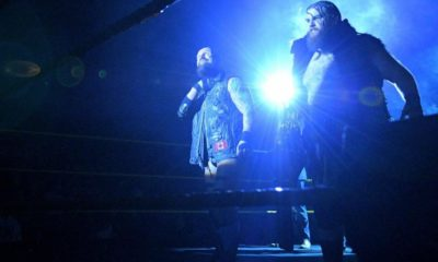 SAnitY Debuts in the Main Roster during a Live Event