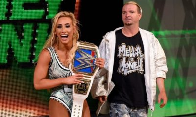 James Ellsworth return helps, Carmella retains the Women's Championship in Money in The Bank