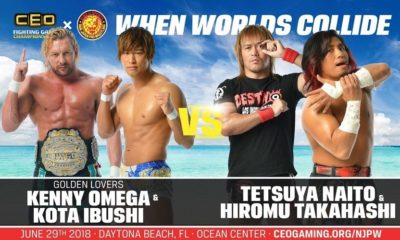 Card Revealed for CEOxNJPW: When Worlds Collide Event