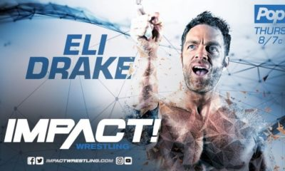 Eli Drake renews extension with Impact - Goodbye WWE?