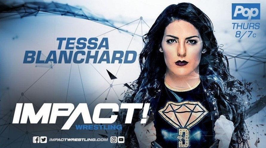 Tessa Blanchard Reportedly signed a 2-year contract with Impact Wrestling