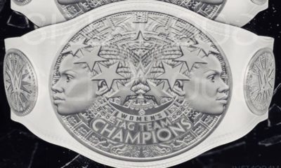 The design of the WWE Women's Tag Team Titles Revealed