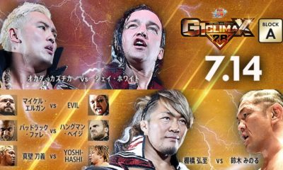 NJPW G1 Climax 28 Results (7/14)- Day 1: The Ungovernables def. BULLET CLUB