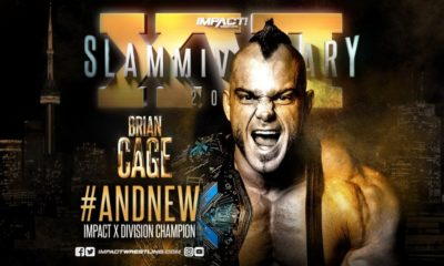 Brian Cage def. Sydal to win the X Division Championship at Slammiversary XVI