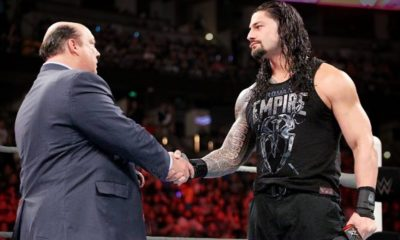 WWE hints that Heyman will betray Lesnar and join Reigns