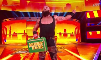 Braun Strowman defeated Kevin Owens to Retains the Money in The Bank briefcase at SummerSlam 2018