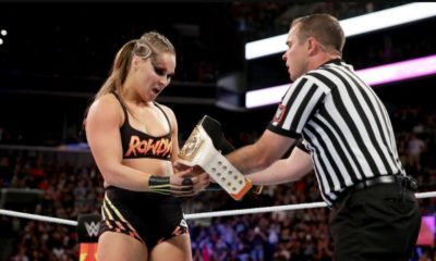 Ronda Rousey becomes the new RAW Women's champion at SummerSlam 2018