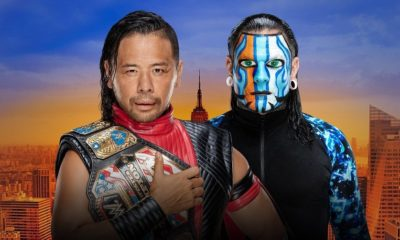 Shinsuke Nakamura will defend the US Title against Jeff Hardy at SummerSlam